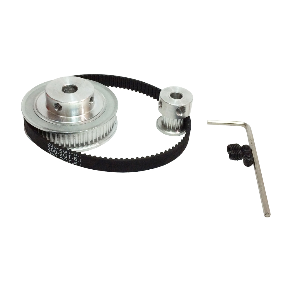 Aliexpress.com : Buy HTD 2GT Timing Belt Pulley Kits GT2 ...