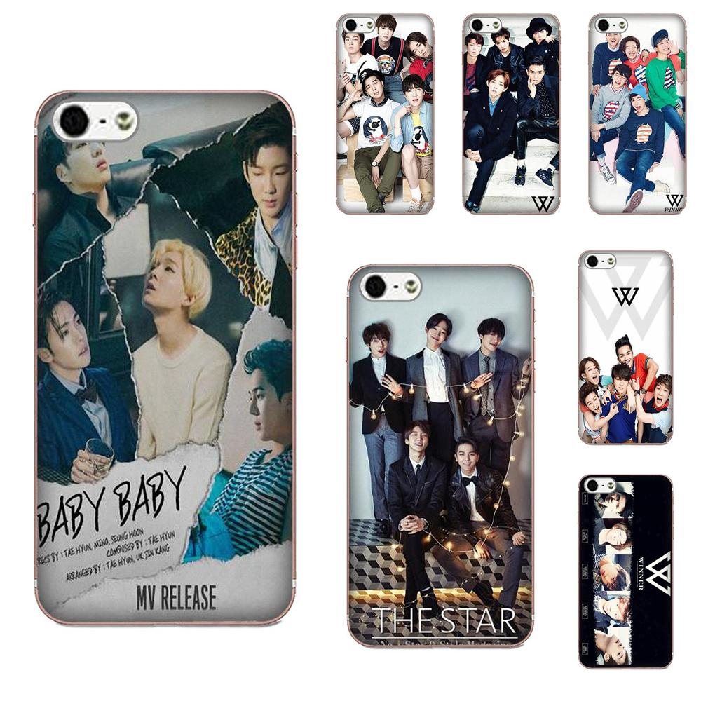 Winner <font><b>Kpop</b></font> For Galaxy J1 J2 J3 J330 J4 J5 <font><b>J6</b></font> J7 J730 J8 2015 2016 2017 2018 mini Pro Soft <font><b>Coque</b></font> image