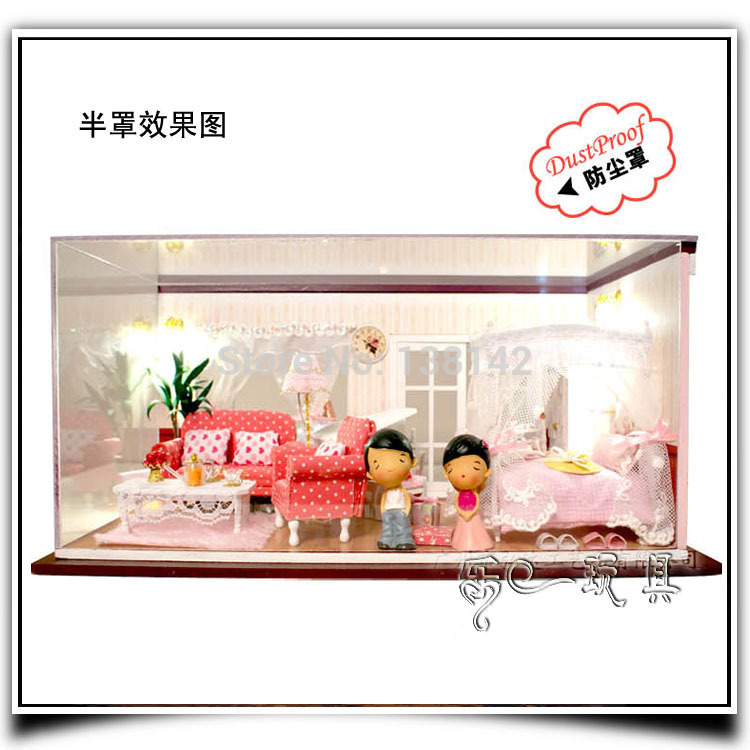 13820 DIY house doll house villa miniature dollhouse bedroom voice led  lights with box free shipping. Online Get Cheap Doll Voice Box  Aliexpress com   Alibaba Group