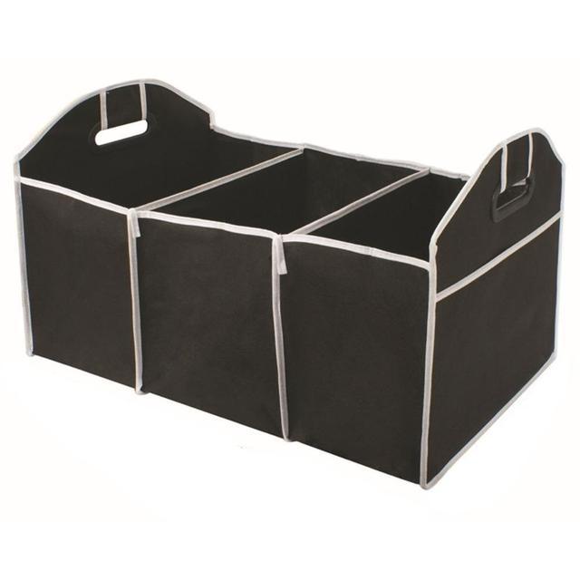 Adeeing foldable 자동차 트렁크 주최자 가방 트럭 밴 suv 스토리지 바구니 자동 도구 휴대용 멀티 구획 주최자 r30