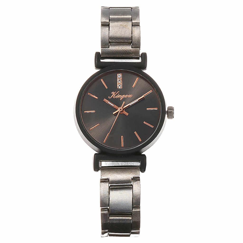2019 Watch Women Luxury Alloy Steel Belt Casual Watches Simple Quartz Wristwatch Zegarek Damski Reloj Mujer Relogio Feminino