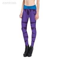 Pencil Pant Women Leggings 3D Robot Hot Sale Crop Legins Punk Rock Fitness Skinny Sportswear Workout
