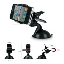Balck White Universal Car Windshield Mount Holder phone car holder For iPhone 5S 6 7 7plus MP3 iPod GPS Samsung free shipping