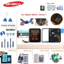 все цены на Sinbeda For Apple Watch Series 1st Gen LCD Display Touch Screen Digitizer 38mm/42mm Replace For Apple Watch 1 LCD 7000 Display онлайн