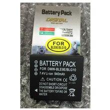 As baterias de lítio DMWBLE9 DMW-BLE9 BLE9E DMW BLG10 DMW-BLG10 Bateria Para Câmera Digital Panasonic DMC-GF6 DMC-GF3 DMC-GF5