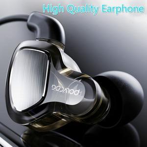 Image 2 - หูฟังหูฟัง Hifi สเตอริโอเบสหูฟังไมโครโฟนชุดหูฟัง Hybrid Driver สำหรับวิ่งจ๊อกกิ้งเดิน
