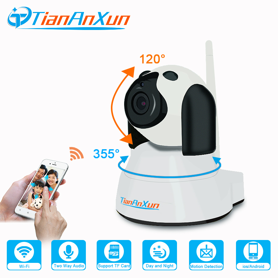 TIANANXUN Home Security IP Camera wifi Wireless Smart Dog Mobile phone remote Surveillance 720P Night Vision Indoor Baby Monitor hd night vision home camera wireless wifi mobile phone remote surveillance camera