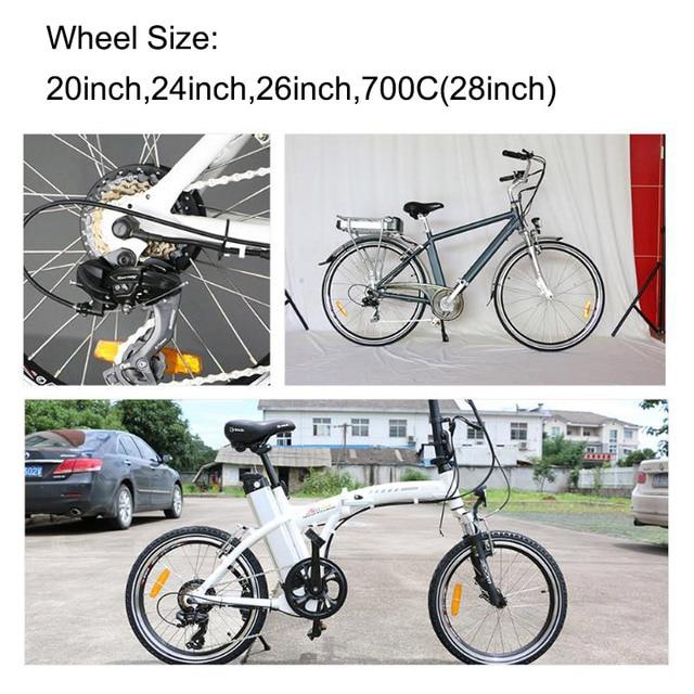 36V/48V 250W/350W/500W front motor wheel for ebike brushless gear motor wheel Conversion Kit bicicleta eletric free shipping