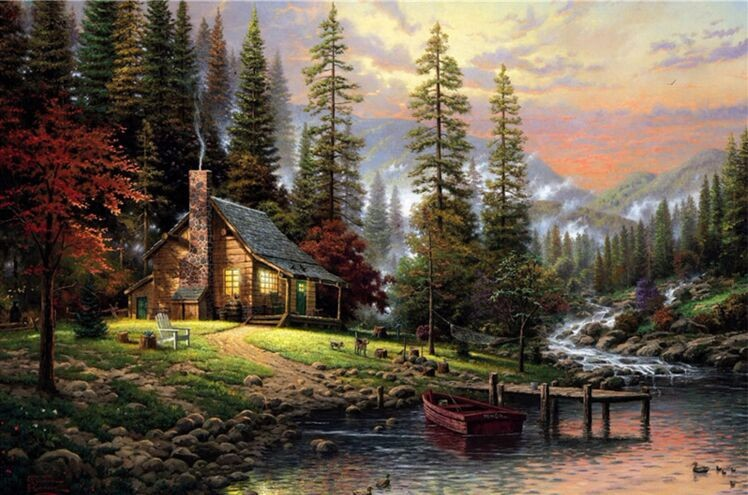 peaceful home wood puzzles 1000 pieces adult puzzles wooden jigsaw puzzle 1000 pieces best adult children