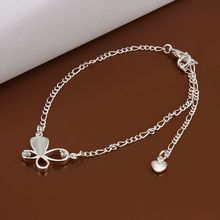 LKNSPCA021 Anklet silver plated anklet silver plated fashion jewelry anklet for modern women jewelry /
