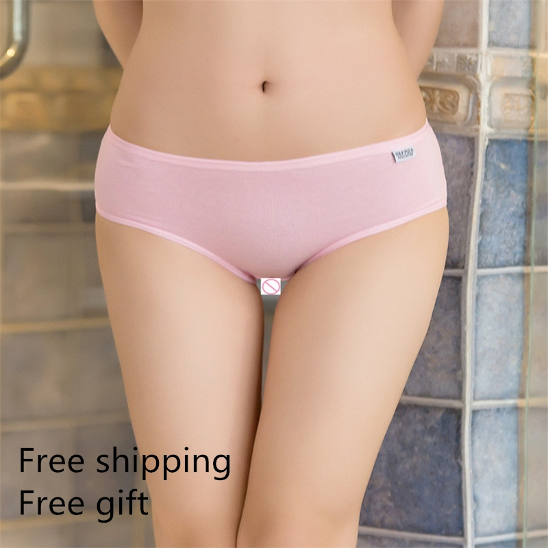 1 pcs Sexy Lingerie Women Underwear 100%  Cotton Everyday Sexy Ladies Girls Panties Briefs Intimates Knickers for Women Girl