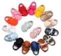 Baby First Walkers Soft Bottom Fashion Tassels Baby Moccasin Newborn Babies Shoes PU Leather Prewalkers Boots