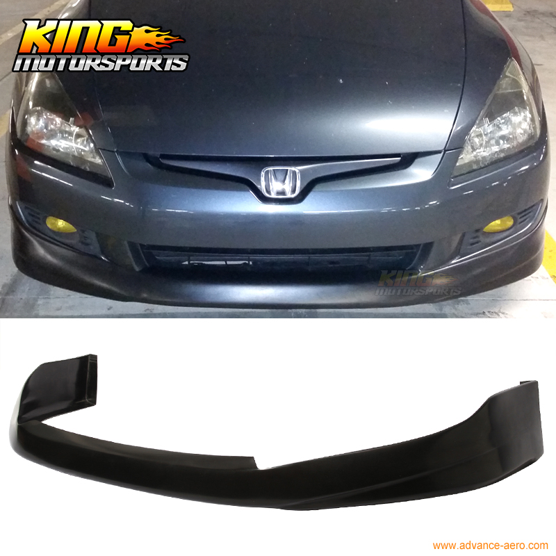 For 03 05 Honda Accord Coupe 2dr Hfp Style Polyurethane Front Per Lip Bodykit Us Domestic Free Shipping In Pers From Automobiles Motorcycles On