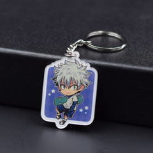 6 Styles Hunter x Hunter Keychain Killua Gon Keyrings Fashion Jewelry Key Chains Custom made Anime Key Ring FQ1