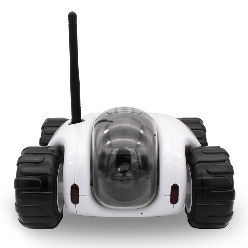 2016 Cloud Rover tank robot WiFi Internet P2P RC spy car night vision camera video toy