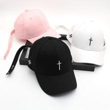 Хами Otwo вышивка христианский крест хлопковая кепка бейсбольная кепка Повседневная бейсболка шапка хип-хоп шапка Иисуса Бога головные уборы для мужчин и женщин Кепка