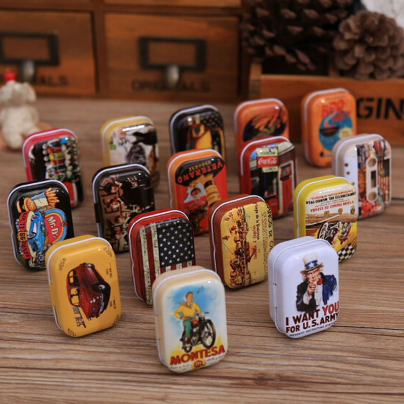 Protable Mini Travel Kitchen Tea Sugar Coffee Tin Box Zakka Vintage Small  Metal Tins Storage Box Organizer Pill Case 5.5*4*2.5cm In Storage Boxes U0026  Bins ...