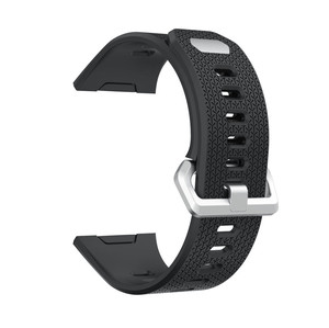 Image 4 - Soft Silicone Replacement Watchband for Fitbit ionic band Small Large Size Smartwatch Accessories Bracelet Strap Sport Wristband