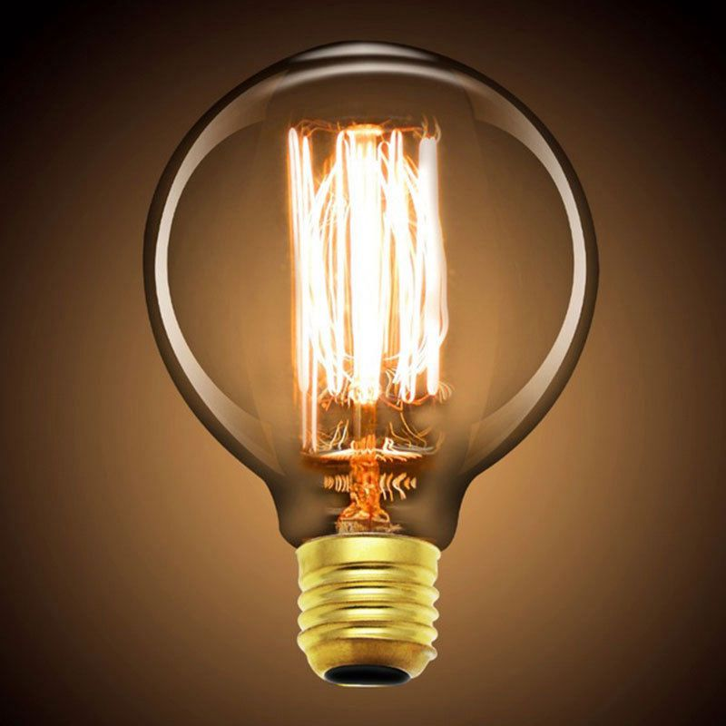 A19 Led Filament Bulb Nostalgic Edison Style 4w To Replace: BHTS Retro Style Edison LED E27 Light Source G80 Filament