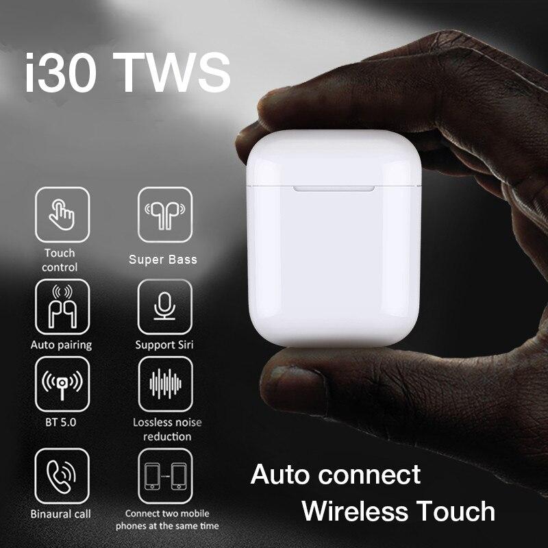 Écouteurs sans fil écouteurs stéréo Bluetooth écouteurs casque dans l'oreille Sport casque avec boîte de Charge pour iPhone Samsung Xiaomi