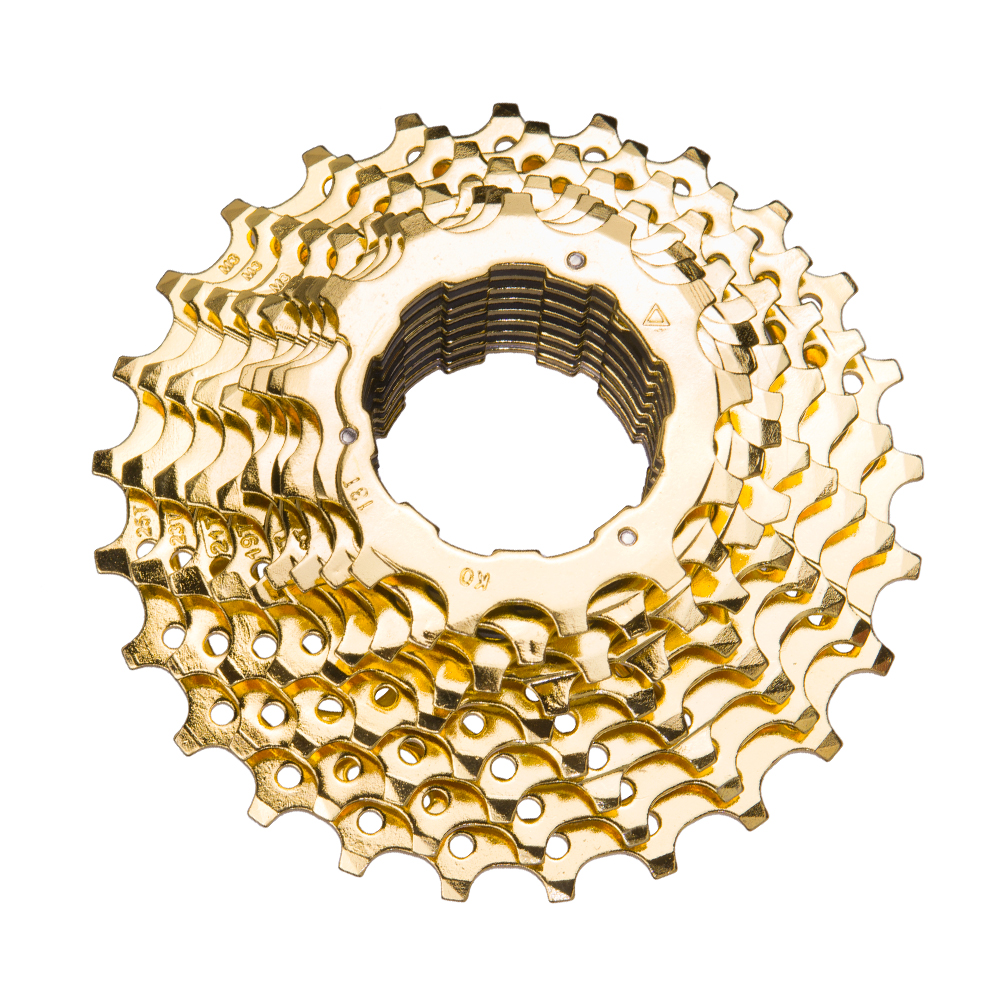 ZTTO Road Bike 11s 11 25T Gold Golden 22 Speed Freewheel Cassette Sprocket 11 25T For Parts 105 5800 Ultegra 6800 Bicycle Part in Bicycle Freewheel from Sports Entertainment