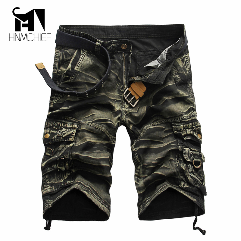 Shorts   men clothing   short   masculino Male Fashion Army Work   Shorts   Cargo Casual Camouflage Summer Brand Clothing Plus Size