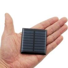 1 pc x 4 V 60mA GÜNEŞ PANELI Taşınabilir Mini Sunpower DIY Modülü Paneli Sistemi Için Güneş lamba pili Oyuncaklar Telefonu Şarj ...