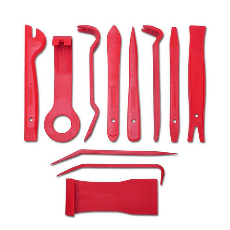 11Pcs Premium Auto Car Trim Door Panel CD Speaker Removal Tool Kit Removal Molding with 1 Nylon Storage Pouch