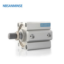 NBSANMINSE SDA  Without Magnet 32mm Bore Compact Cylinder AirTAC Type Double Acting Pneumatic Automation Parts