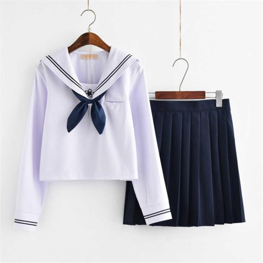 School Meisje Rok Japanse Stijl JK Uniform Japan Fashion College Sailor Kostuum Geplooide Anime Trui voor Meisjes Kleding