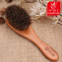 Fenice Styling Hair Broken Hair Comb Horse Mane Hair Wood Handle Retro Oil Head Comb Head Style Hairbrush
