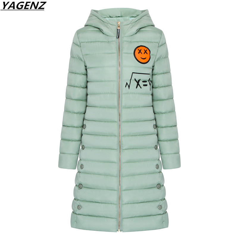 Women Winter Jacket 2017 New Hooded Down Cotton Jacket Warm Medium Long Outwear Slim Big Size Women Parkas Cotton-padded Clothes 2017 new winter fashion women down jacket hooded thick super warm medium long female coat long sleeve slim big yards parkas nz18