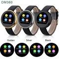 DM360 Bluetooth Relógios Inteligentes 128 MB + 32 MB de Freqüência Cardíaca Pedômetro Anti-perdida Handfree Relógio de Pulso para IOS Android wen mulheres smartwatch