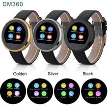 DM360 Bluetooth Smart Uhren 128 MB + 32 MB Herzfrequenz Schrittzähler anti-verlorene Handfree Armbanduhr für IOS Android wen frauen smartwatch