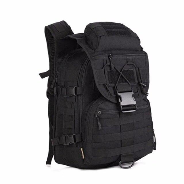 Pria Molle Trekking Bag Militer 3 P Taktik Tas Cordura Assault Backpack Knapsack Si Ransel Pria Ransel