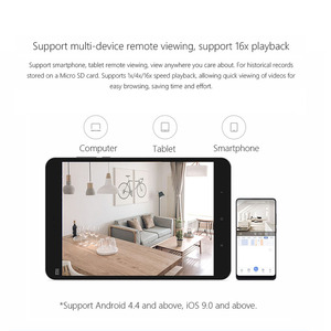 Image 5 - Xiaomi Mijia מיני IP המצלמה Wifi 1080P HD אינפרא אדום ראיית לילה 360 תואר אלחוטי Wi fi טלוויזיה במעגל סגור מצלמת אבטחה בבית חכמה מצלמה