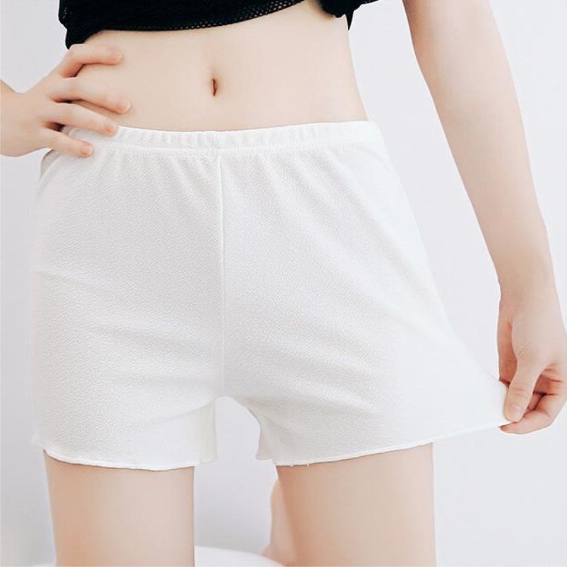 YRRETY Women Cotton Blend Summer Shorts Pants 6 Colors Elastic Waist Patchwork Casual Short Pant Fashion Comfortable Femme