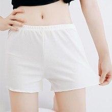 YRRETY Women Cotton Blend Summer Shorts Pants 6 Colors Elastic Waist Patchwork Casual Short Pant Fashion Comfortable Short Femme