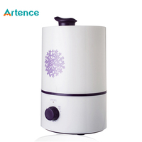 4L Large Capacity Ultrasonic Humidifier For Home Office 350ml H Large Fog 15 Hours Continuous Working