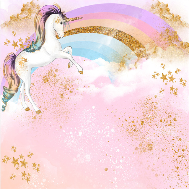 8x8ft pink clouds rainbow sky gold coins unicorn baby envelope clip art to color envelope clip art to color