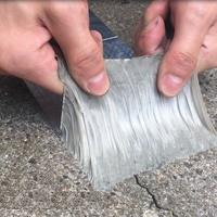 Quality Aluminium Foil Butyl Rubber Tape Floor Roof Window Wall Waterproof Adhesive Sealer 5cm x 5m 10m