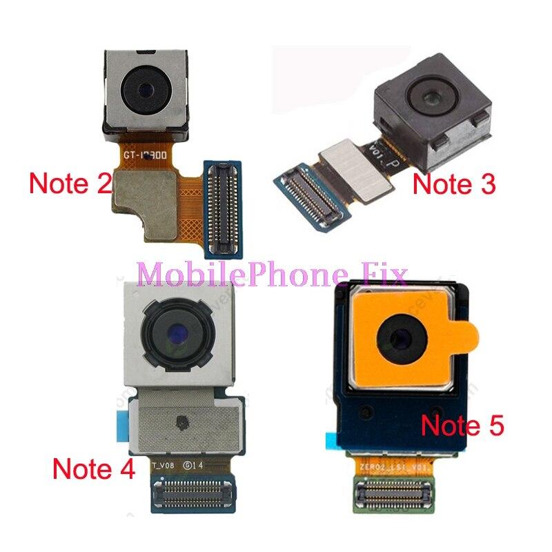5 PCS Tested Original Back Rear Camera For Samsung Galaxy Note 5 N920 Note 4 N910 Note 3 N900 Note 2 N7100 Main Cam Module