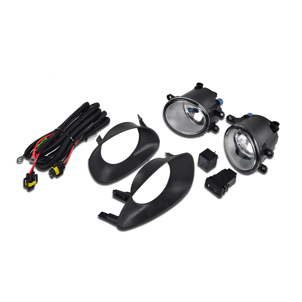 H2CNC Front Driving Fog Light Lamp Switch Wiring Harness Assembly H11 12v/55w Bulbs For Toyota Yaris Hatchback 2006 2007 2008H2CNC Front Driving Fog Light Lamp Switch Wiring Harness Assembly H11 12v/55w Bulbs For Toyota Yaris Hatchback 2006 2007 2008