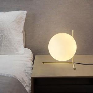 Image 5 - Modern style living room bedroom minimalist restaurant  pendant light Nordic clothing decoration glass ball pendant lamp