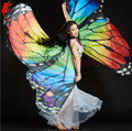 Belly dance props 360 open butterfly wings for girls belly dance accessories women performance belly dance wings free shipping
