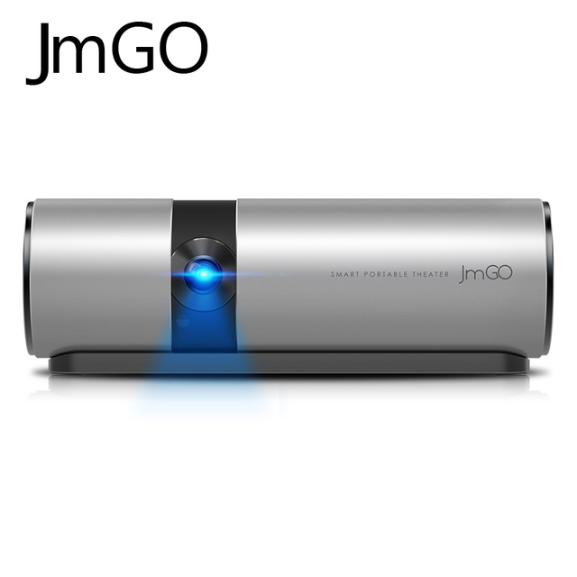 DLP Mini PhonePortable Smart Android Airplay JmGo P2 Bluetooth USB Video Wifi Micro For Smart Phone Intelligent Projector