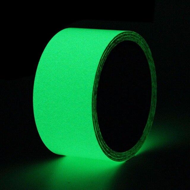Nastro di sicurezza Luminoso Non Skid Nastro Adesivo Glow In The Dark Anti Slip Grip Nastro Abrasivo Per Gradino Piano di