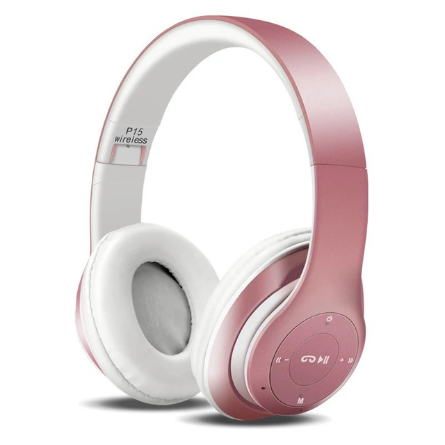 SUPOLOGY Auricolare Bluetooth Cuffie per il Telefono Auricolare Senza Fili  Stereo con Il Mic AUX FM a31989fa5d4a