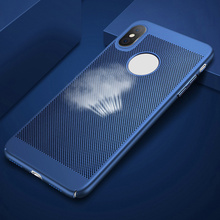 For iPhone X Heat Dissipation Protective Case