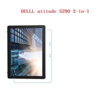 Delll atitude 5290 2-in-1 12.3 인치 9 h 안전 플렉시 유리 슈퍼 충격 방지 방폭 스크린 프로텍터